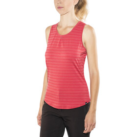 Mountain Equipment Equinox Vest Women poppy stripe
